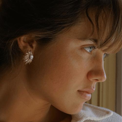 Mantarraya Earrings